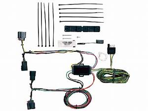 Blue Ox Ez Light Wiring Harness 2007-2011 Jeep Grand Cherokee  With And Without