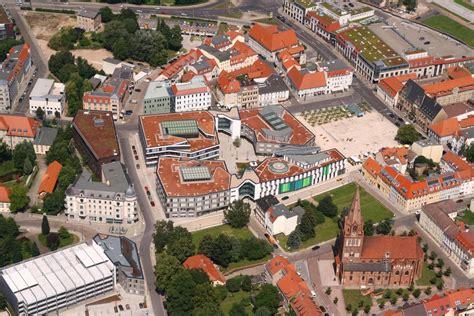Das Neue Stadtzentrum Von Eberswalde Paul Wunderlich Haus