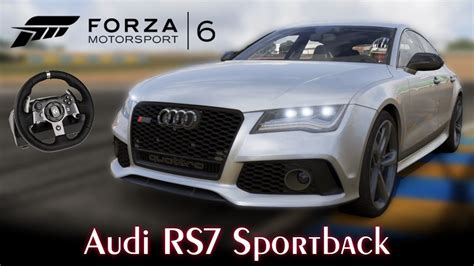 Audi Rs7 Sportback! Forzavista E Top Speed