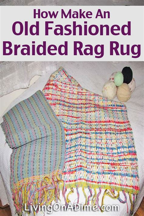 how to make a braided rug fashioned rag rugs rugs ideas