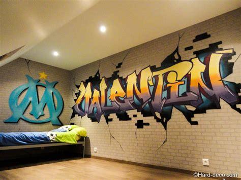 chambre om pin deco fille graffiti on