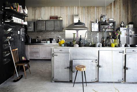 un ilot de cuisine cuisine au style industriel les 8 détails qui changent tout