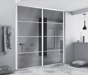 comment choisir sa porte de placard leroy merlin With porte d entrée alu avec carrelage mural salle de bain noir brillant