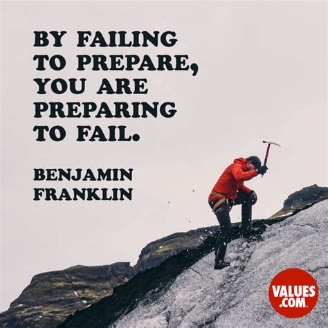 """""""by Failing To Prepare, You Are Preparing To Fail"""