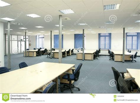 am駭agement bureaux open space office interior modern empty open space office royalty free stock images image 15059099