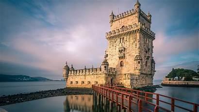Portugal Lisbon Spotlight Torre Tower Costa Belem