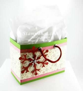 hand made gift bags for christmas stin up handmade gift bag stewartstown pa class