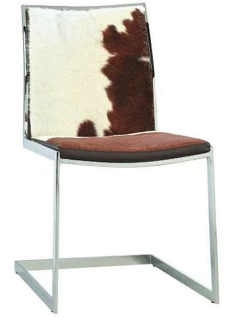 Cowhide Chairs Modern by Cowhide Modern Dining Chair Home And Office Furniture