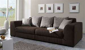 awesome sofa moderne marron gris pictures awesome With tapis ethnique avec canapé montana