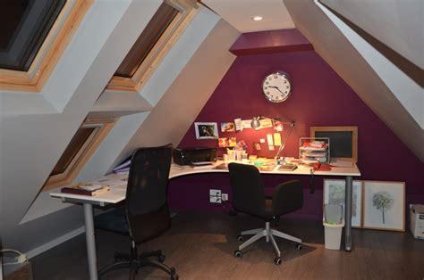 cuisine facile bureau photo 1 3 le bureau une pièce très mansardé au