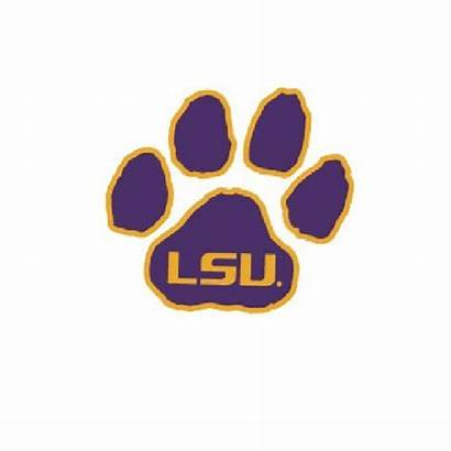 Lsu Clipart Clip Paw Football Cliparts Clipground