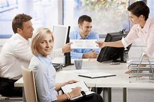 Business People Working In Office Stock Photo - Image of ...