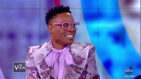 Billy Porter Importance Telling Pose Story