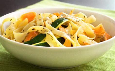 cuisine etudiant fr tagliatelles aux petits légumes