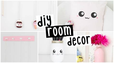 diy room decor  easy inexpensive ideas youtube