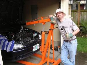 Open Source Civic Ev Kit  Hoisting Out The Engine