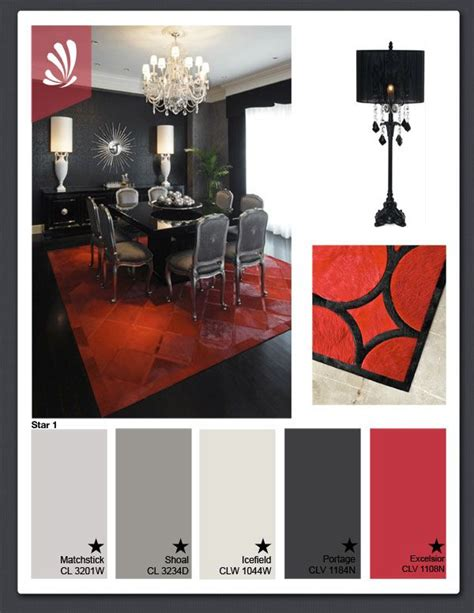 Gray Black And Bedroom Color Scheme by Black White And Glam Palette Color Inspiration In