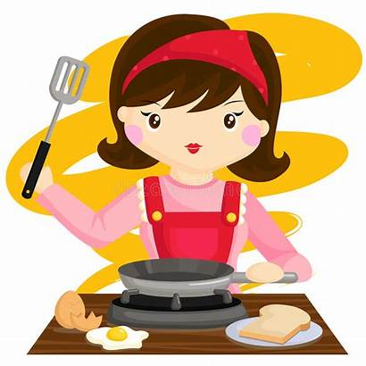 Cooking Mama Breakfast Cook Lady Woman Bread
