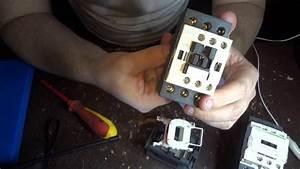 Schneider Lc1d38 Contactor Teardown