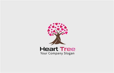 heart logos  editable psd ai vector eps format