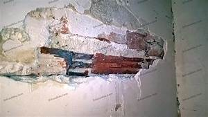 Reboucher Trou Mur Placo : reboucher trou mur comment boucher un trou non vide dans ~ Melissatoandfro.com Idées de Décoration