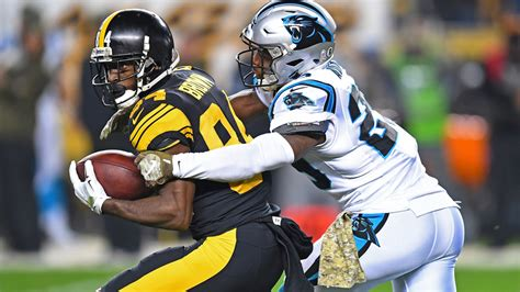 antonio brown trade projecting  potential panthers