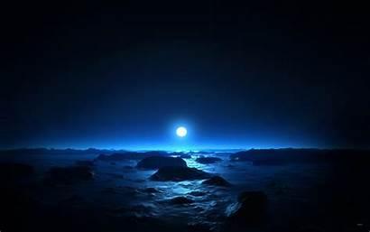 Moon Night Sea Mid Wallpapers 1440 1920