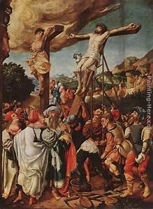 Jorg Breu the Elder Crucifixion painting anysize 50% off ...