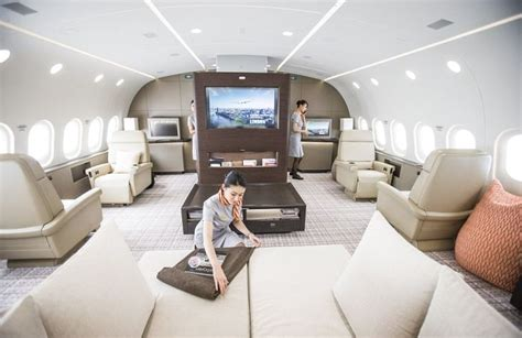 Luxurious Yet Liveable Penthouse by This Jet Is Basically A Flying Penthouse Others