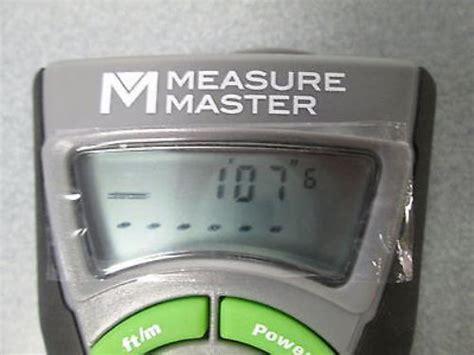 bosch measuring master measure master by bosch mm s ultrasonic 45 ft distance