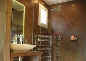 tadelakt a la chaux aerienne pour interieur et exterieur With enduit decoratif salle de bain