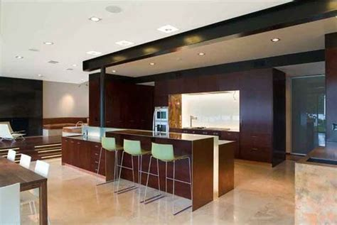 table cuisine moderne design salon moderne bois