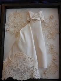 miniature replica of your wedding dress made from your old With keepsakes made from wedding dresses