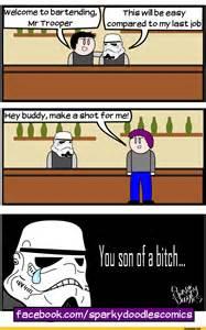 Comic Stormtrooper Funny