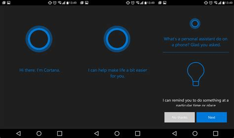 cortana for android leaks microsoft suggests a tester in