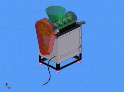 crusher sah contoh desain menggunakan autodesk inventor mesin penghancur sah tugas akhir