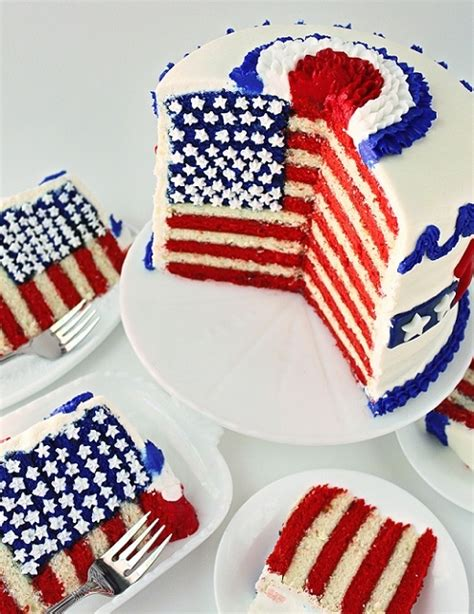 4th of july cake fourth of july cake recipe dishmaps