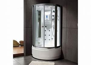 Cabine De Douche Angle : cabine de douche hydromassante 100x100 16 jets cabine de ~ Dailycaller-alerts.com Idées de Décoration