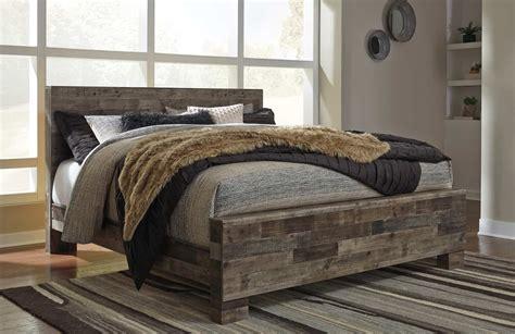 derekson multi gray king panel bed cincinnati overstock