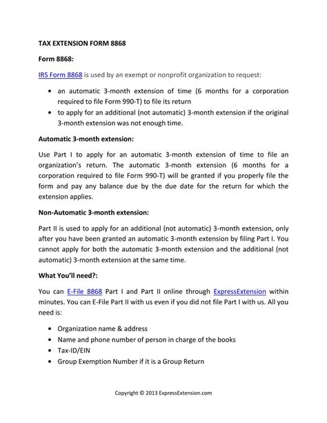 tax extension form   express extension issuu