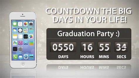 countdown app iphone big days of our lives countdown timer iphone android and Count