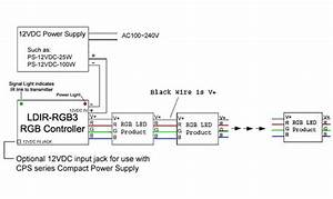 Rgb Led Controller With Wireless Ir Remote