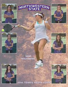 2016 Northwestern State Tennis Media Guide by Northwestern ...