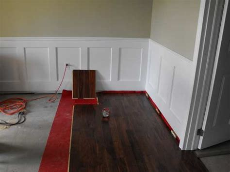 Wainscoting in the basement part 17
