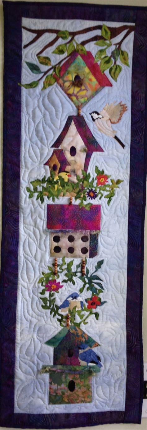 patchwork applique patterns mckenna birdhouse quilt pattern quilting wall