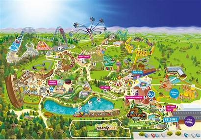 Map Ultimate Lightwater Valley Park Ride Rides