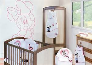 Chambre Bébé Disney : collection love minnie de babycalin chambre b b love minnie ~ Farleysfitness.com Idées de Décoration