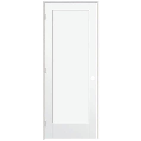 home depot prehung interior doors steves sons ultra 1 panel smooth primed white prehung