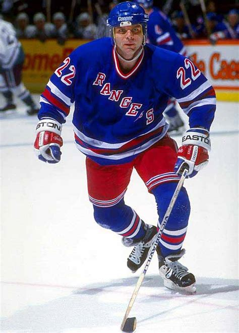 Mike Gartner New York Rangers or Toronto Maple Leafs Game ...