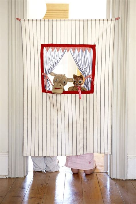 diy puppet theater shadow puppet theater